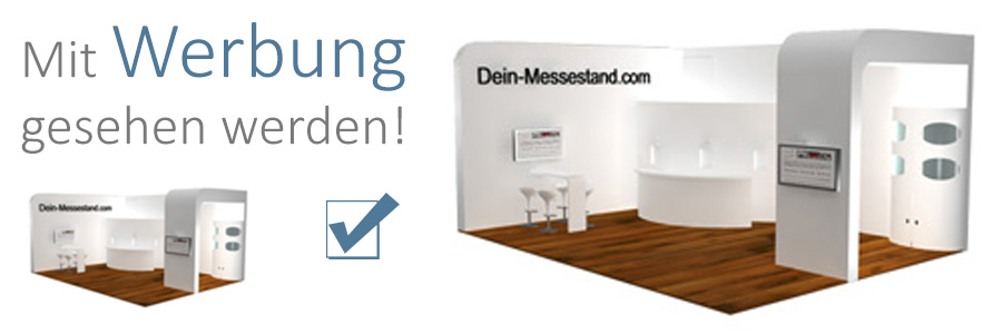 Werbung in Messe TV + Messemagazin