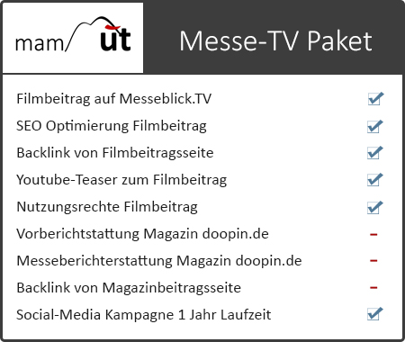 Messe-TV Medienpaket